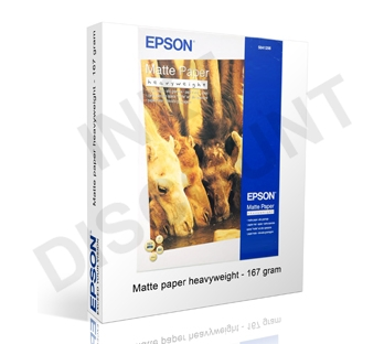 Epson Matte Heavyweight - 167 gram A4 (297 x 210 mm)