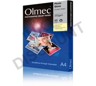 Olmec High Gloss Photo Paper (Dubbelzijdig) - 250 gram A4 (297 x 210 mm)