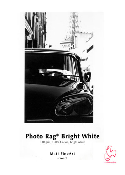 Hahnemühle Photo Rag Bright White (High White) - 310 gram A4 (297 x 210 mm)