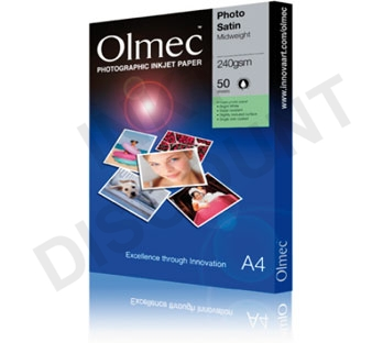 Olmec Semi-Gloss Photo Paper - 260 gram A4 (297 x 210 mm)