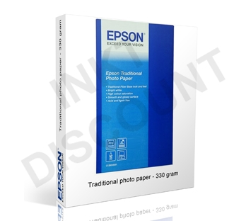 Epson Traditional Photo (Digitaal Bariet) - 300 gram 17 inch